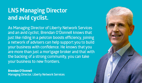 Brendan O'Donnell, Managing Director, Liberty Network Services