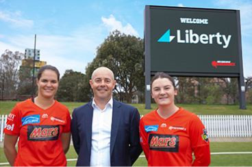 Liberty backs WBBL's Melbourne Renegades